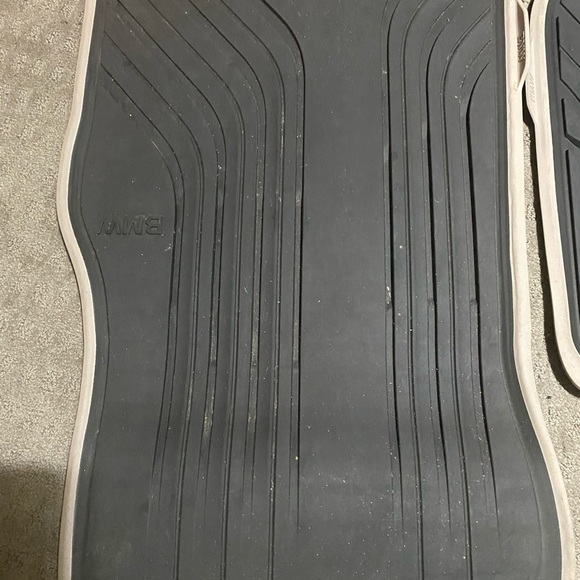 COPY - BMW rubber floor mats 29 in long and 25 in…